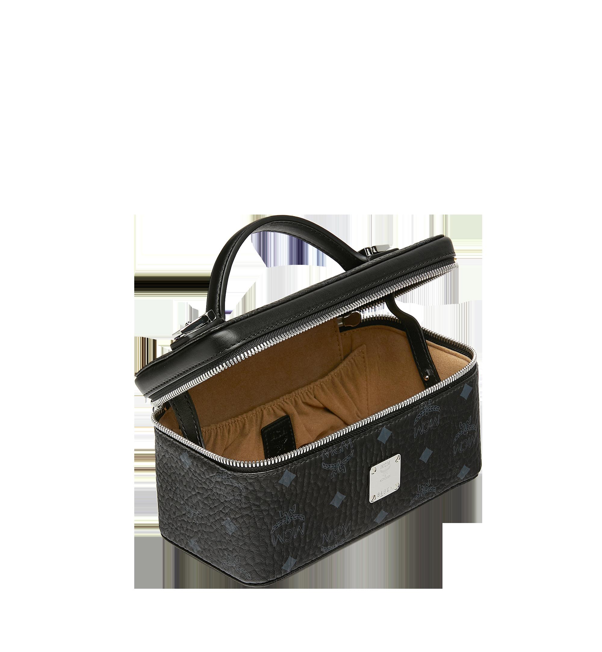 MCM Rockstar Vanity Case in Visetos Original Black MYZ8AVI01BK001 Alternate View 5