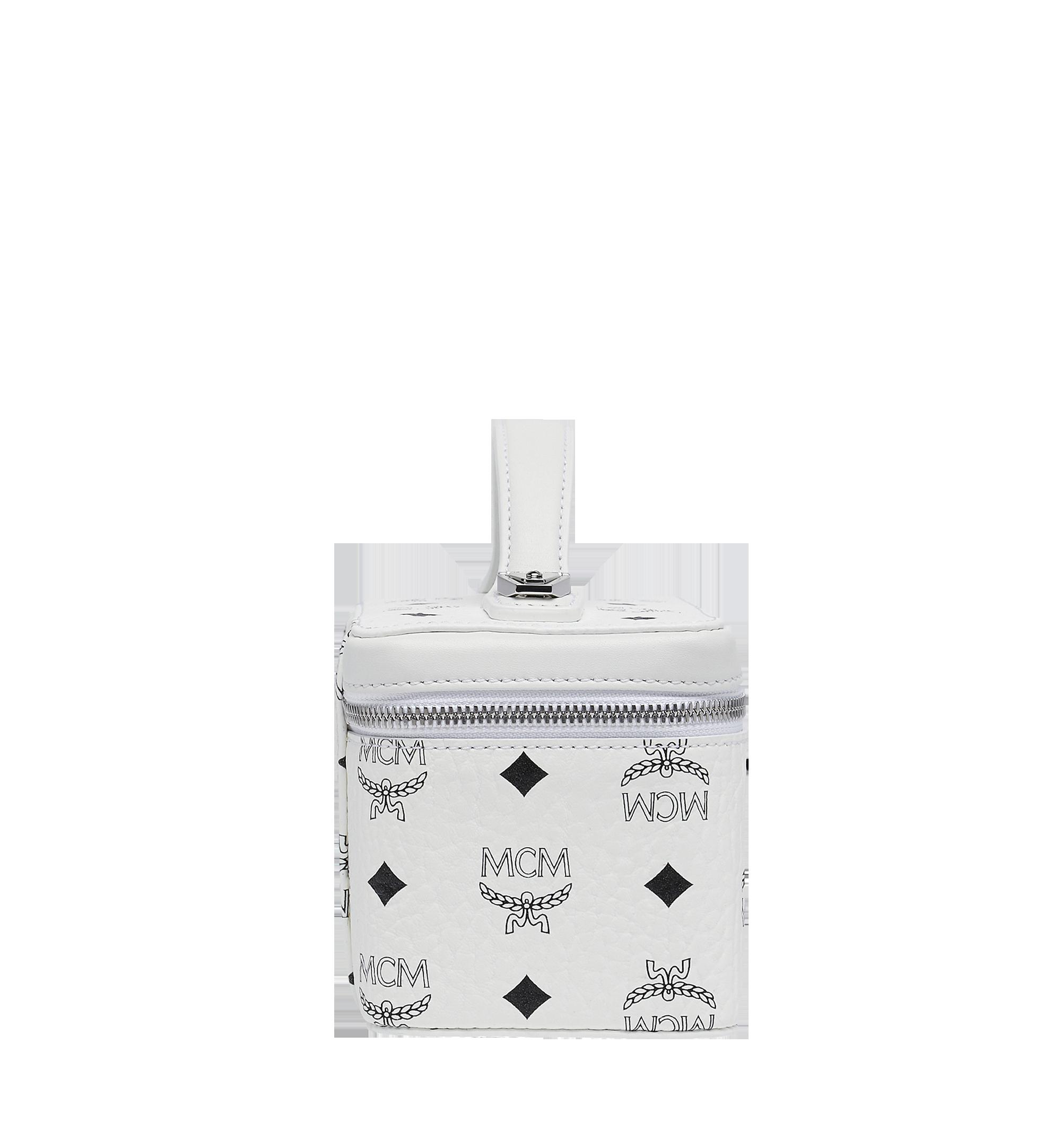 MCM Rockstar Visetos 原創化妝箱 White MYZ8AVI01WT001 更多視圖 2