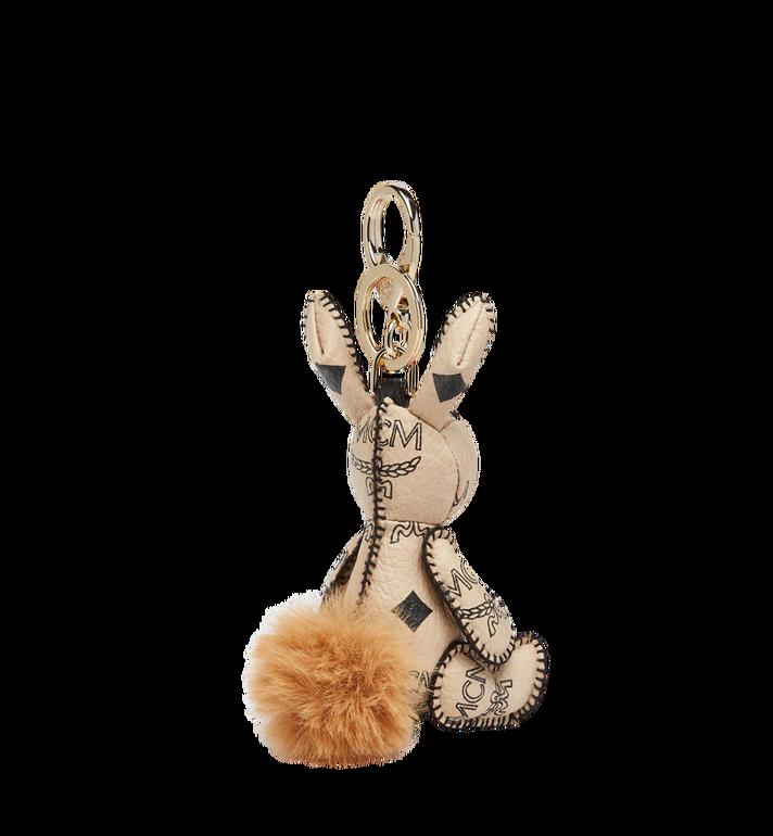 MCM MCM Zoo Rabbit Charm in Visetos  MYZ8AVI38IG001 Alternate View 2