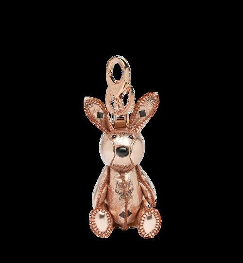 MCM Zoo Rabbit Charm in Visetos