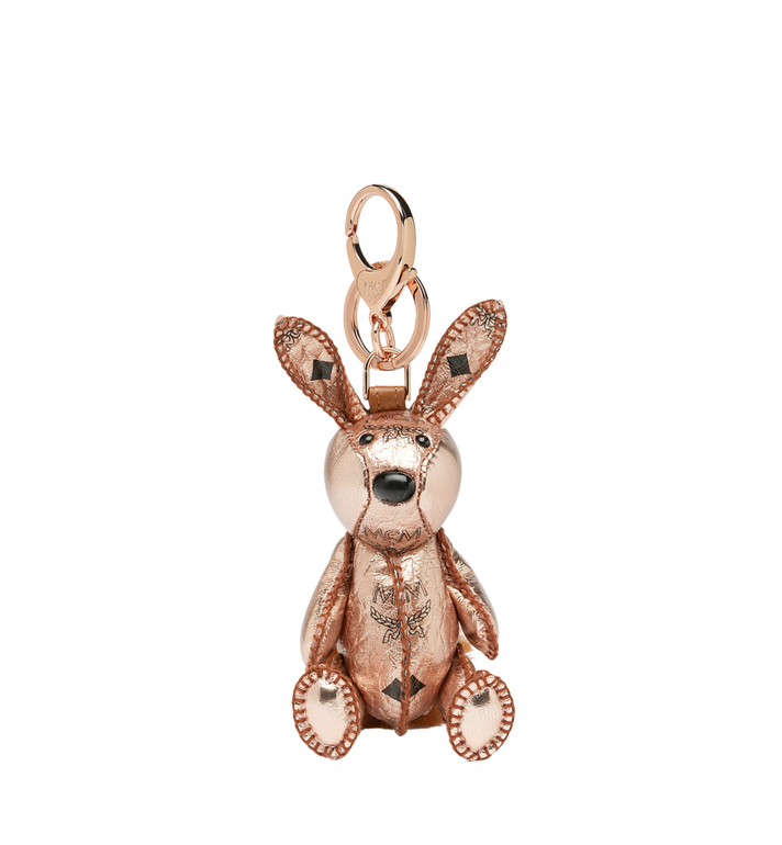 MCM MCM Zoo Rabbit Charm in Visetos MYZ8AVI42TC001 AlternateView