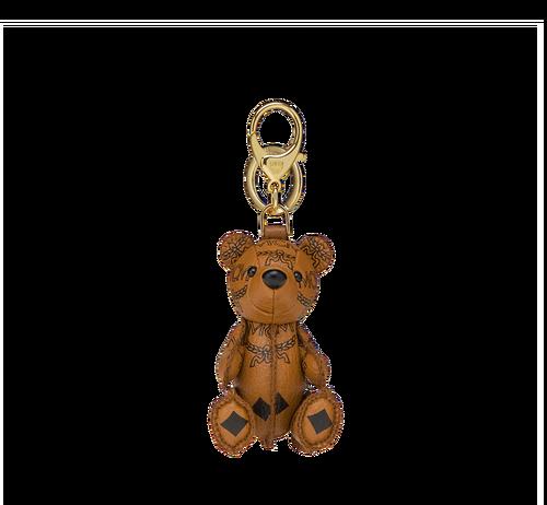 MCM Zoo Schlüsselanhänger mit Bär in Visetos