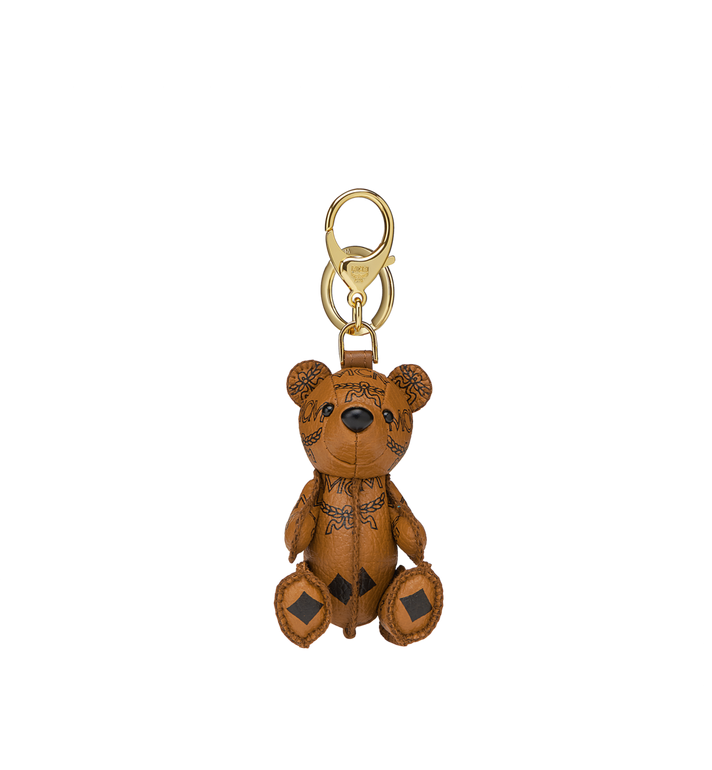 MCM MCM Zoo Bear Charm in Visetos MYZ8AXL06CO001 AlternateView