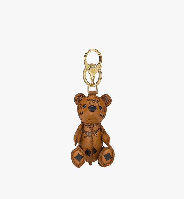 MCM Zoo Bear Charm in Visetos cebafc31dc8d3