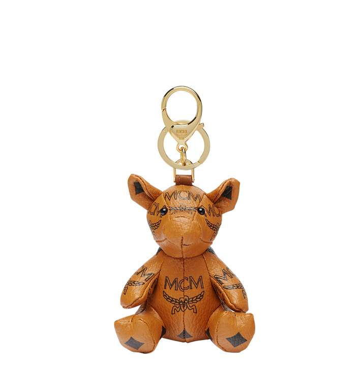 MCM MCM Zoo Pig Charm in Visetos MYZ8AXL07CO001 AlternateView