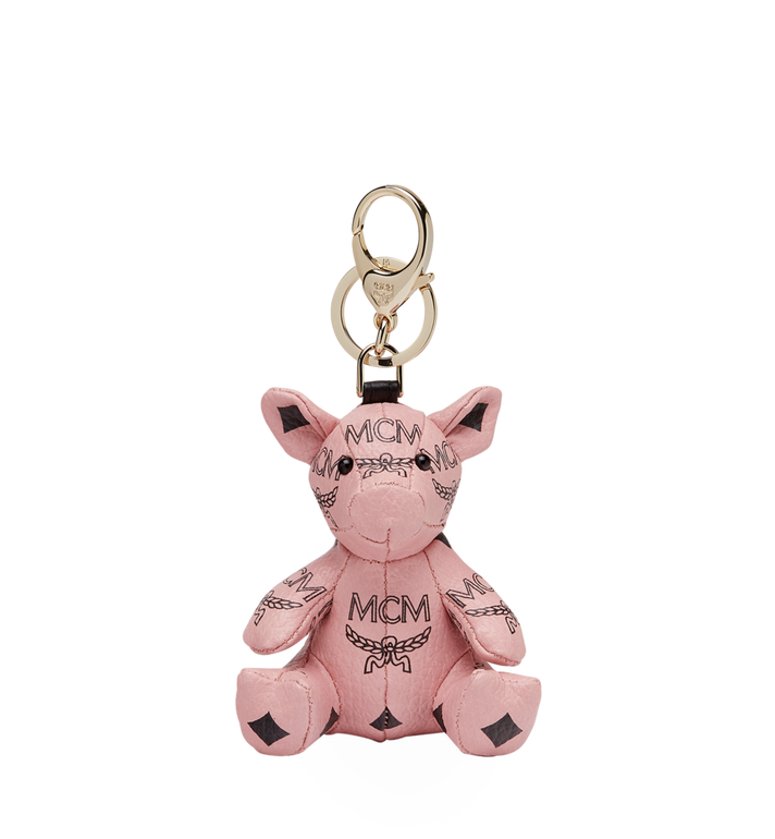 MCM MCM Zoo Pig Charm in Visetos MYZ8AXL07PZ001 AlternateView1