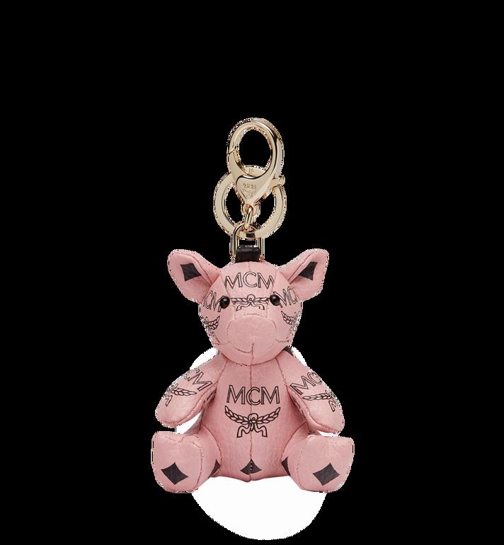 MCM MCM Zoo Pig Charm in Visetos Alternate View