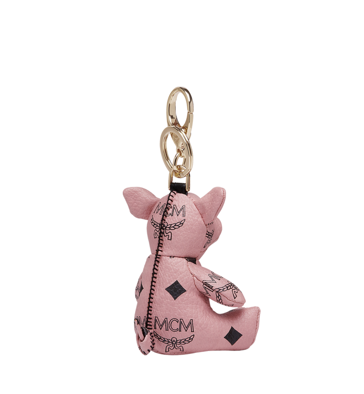 MCM MCM Zoo Pig Charm in Visetos MYZ8AXL07PZ001 AlternateView2