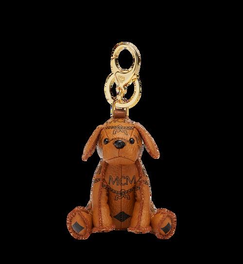 Porte-clés MCM Zoo chien en Visetos