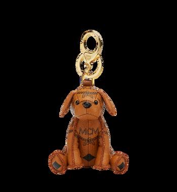 MCM MCM Zoo Dog Charm in Visetos MYZ8AXL08CO001 AlternateView