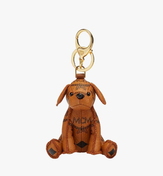 MCM Zoo Dog Charm in Visetos c09afbb9ec718
