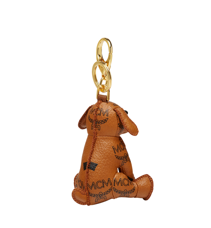 MCM MCM Zoo Dog Charm in Visetos  MYZ8AXL08CO001 Alternate View 2