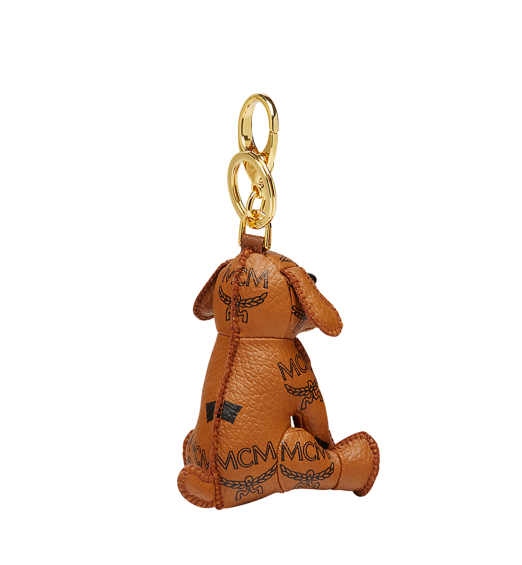 MCM MCM Zoo Dog Charm in Visetos  MYZ8AXL08CO001 Alternate View 1