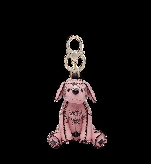 Porte-clés chien MCM Zoo en Visetos