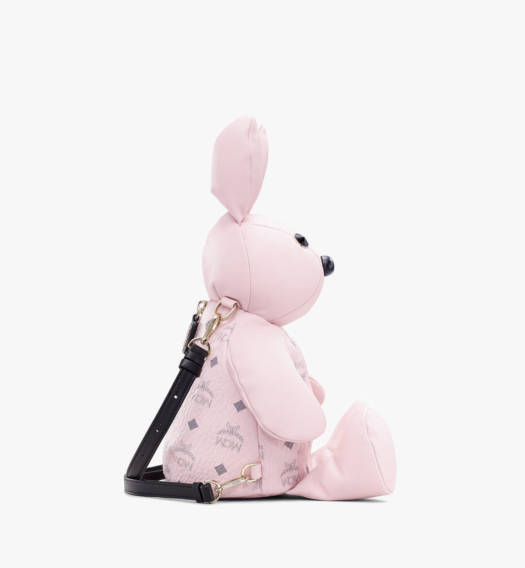 MCM Visetos 皮革 MCM Zoo Rabbit 背包 Pink MYZ8AXL17QH001 更多視圖 1
