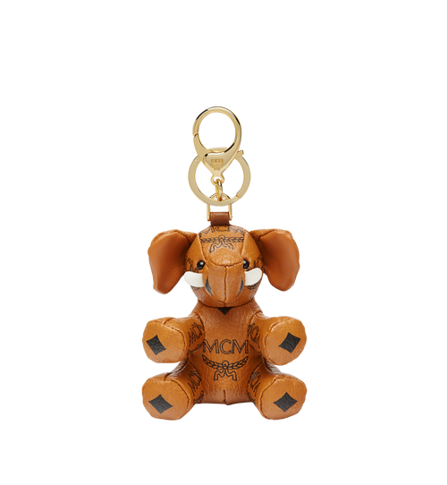 MCM Zoo Elephant Charm in Visetos