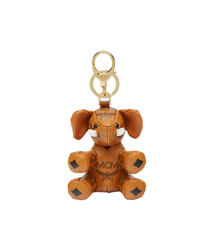 MCM MCM Zoo Elephant Charm in Visetos Alternate View