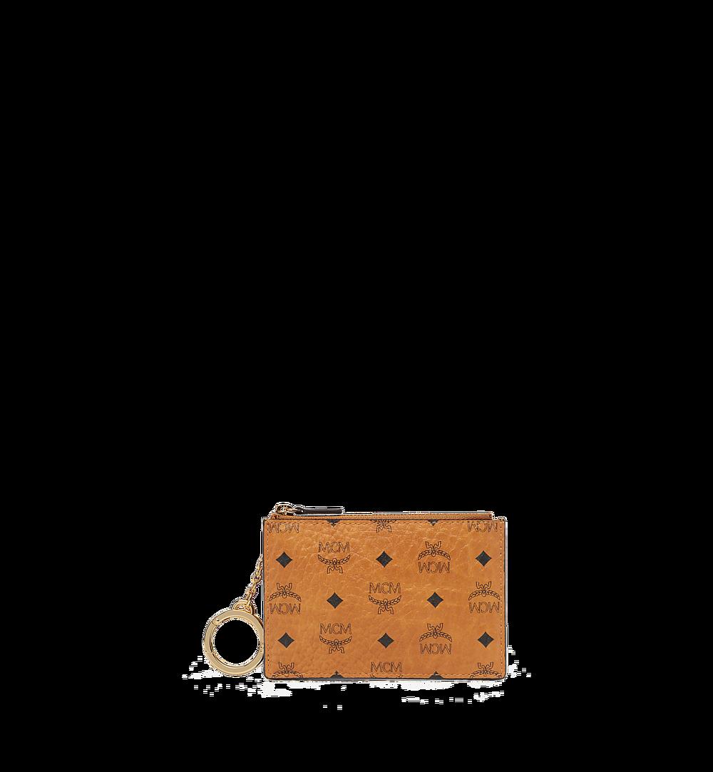 MCM Original Schlüsseltäschchen in Visetos Cognac MYZ8SVI06CO001 Noch mehr sehen 1
