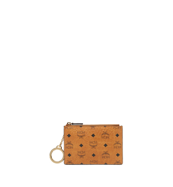 MCM Key Pouch in Visetos Original MYZ8SVI06CO001 AlternateView