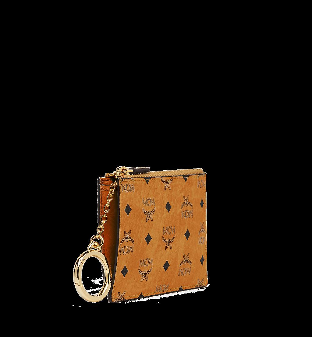 MCM Pouch mit Schlüsselanhänger in Visetos Original Cognac MYZ8SVI06CO001 Noch mehr sehen 1