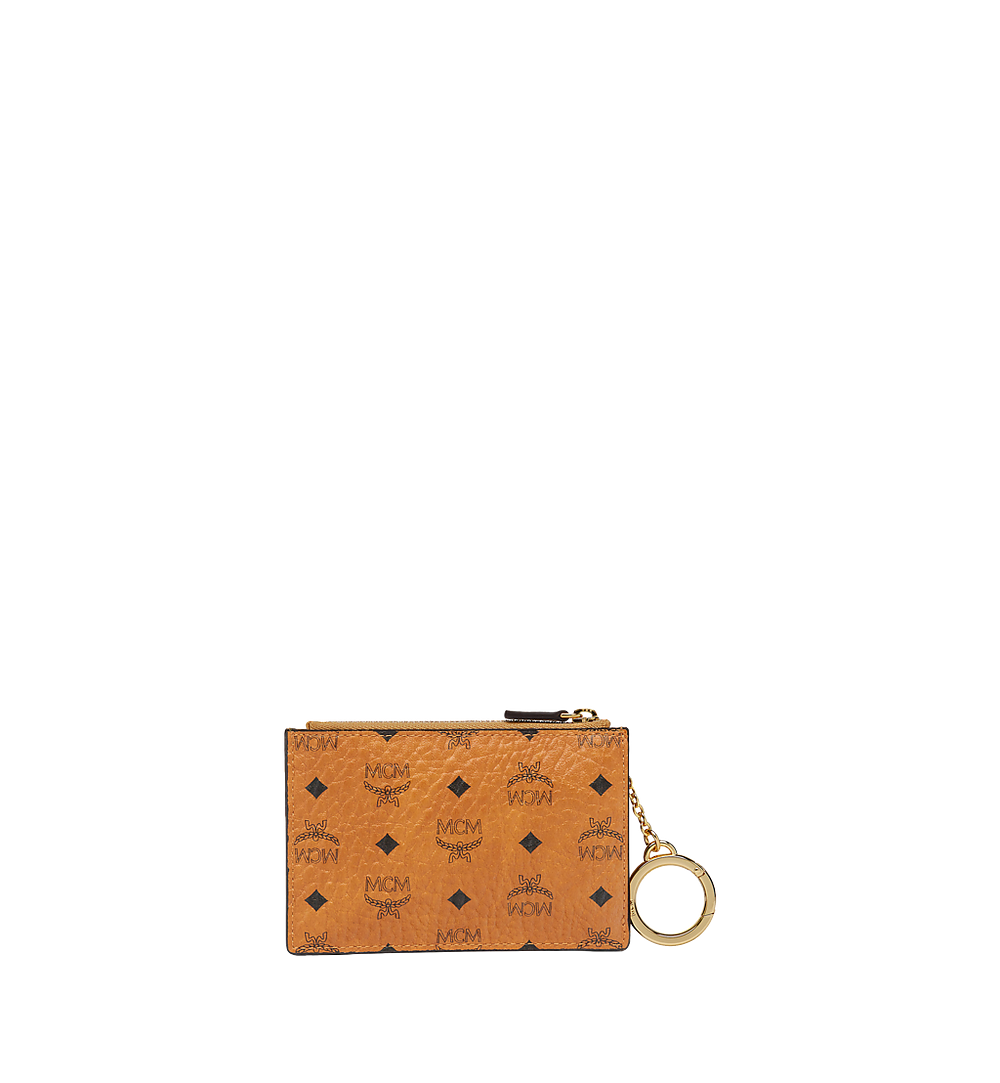 MCM Original Schlüsseltäschchen in Visetos Cognac MYZ8SVI06CO001 Noch mehr sehen 2