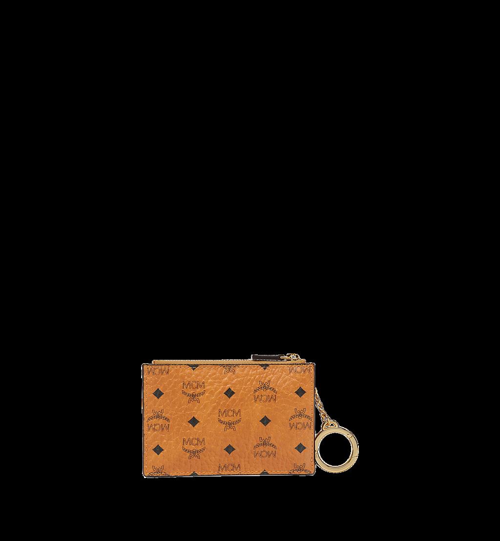 MCM Pouch mit Schlüsselanhänger in Visetos Original Cognac MYZ8SVI06CO001 Noch mehr sehen 2