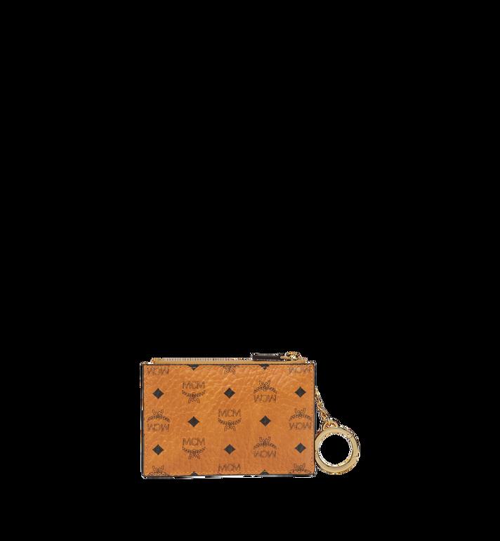 MCM Key Pouch in Visetos Original MYZ8SVI06CO001 AlternateView3