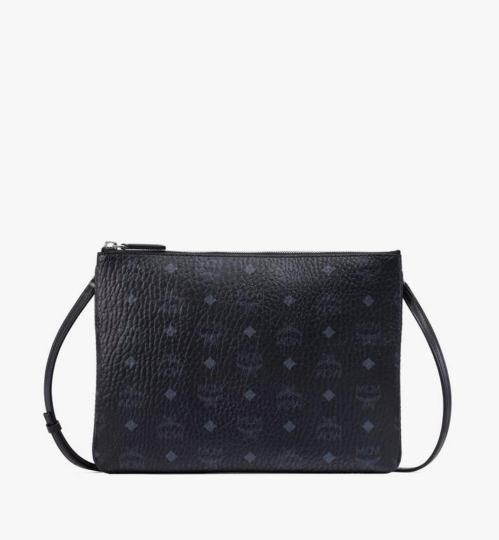 MCM Crossbody Pouch in Visetos Original Alternate View