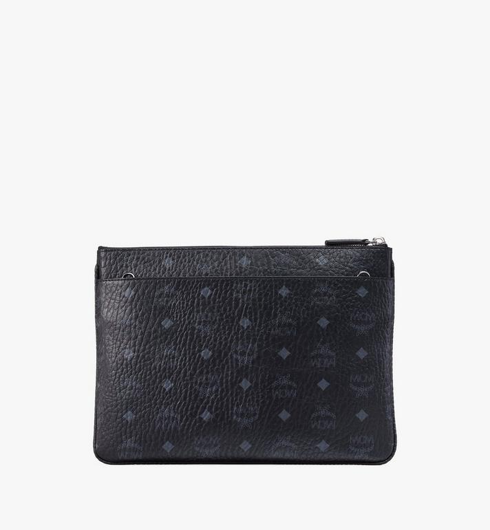 MCM Crossbody Pouch in Visetos Original Black MYZ8SVI20BK001 Alternate View 3