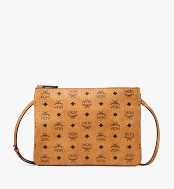MCM Crossbody Pouch in Visetos Original AlternateView