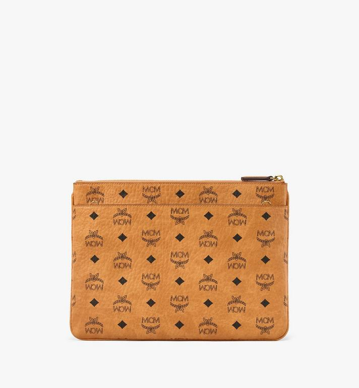 MCM Crossbody Pouch in Visetos Original AlternateView4