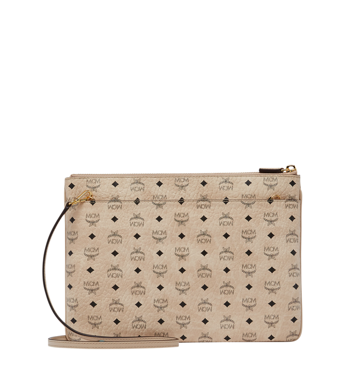 MCM Crossbody Pouch in Visetos Original Alternate View 3