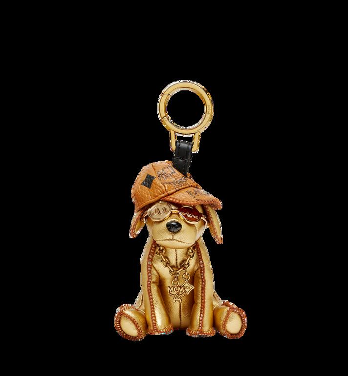 MCM Golden Dog Animal Charm Alternate View