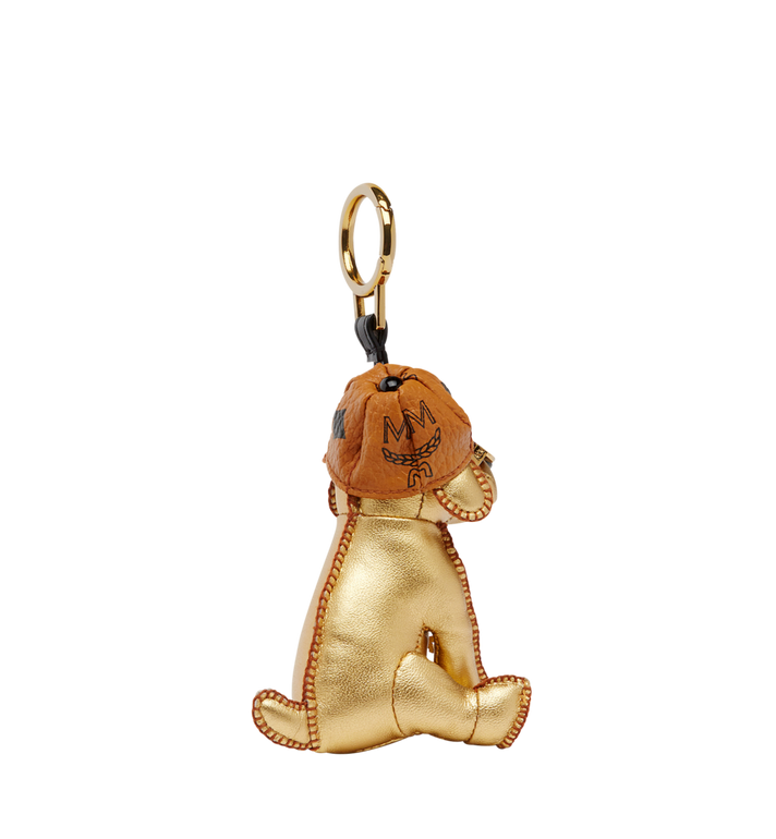 MCM Golden Dog Animal Charm Alternate View 2
