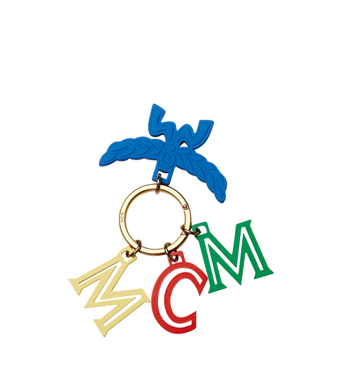 MCM MCM Logo Letter Charm MYZ8SXL57HT001 AlternateView3