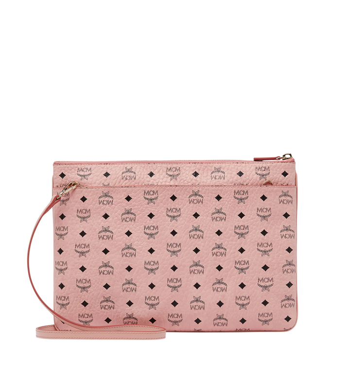 MCM Rabbit Crossbody Pouch in Visetos Alternate View 3