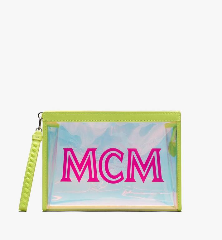 MCM Flo Zip Pouch in Hologram Alternate View