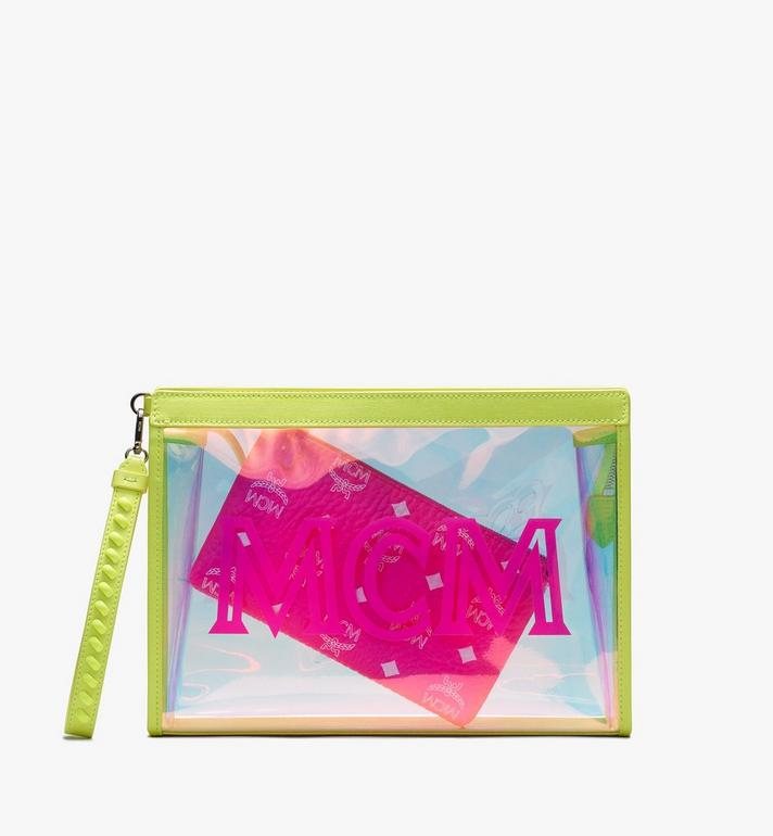 MCM Flo Zip Pouch in Hologram Alternate View 2