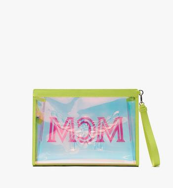 MCM Flo Zip Pouch in Hologram Alternate View 3
