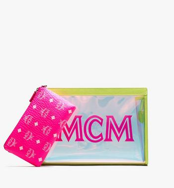MCM Flo Zip Pouch in Hologram Alternate View 5