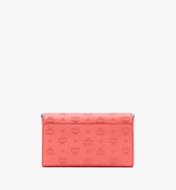 MCM Millie Crossbody in Monogram Leather Red MYZ9AME12O3001 Alternate View 2