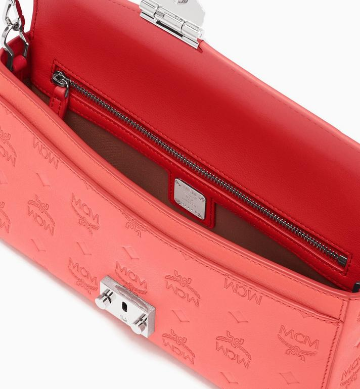 MCM Millie Crossbody in Monogram Leather Red MYZ9AME12O3001 Alternate View 3