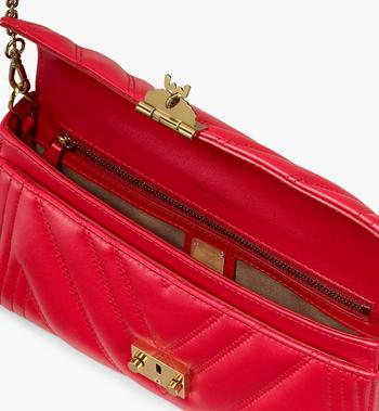 MCM Millie Crossbody Bag in Quilted Leather Alternate View 3