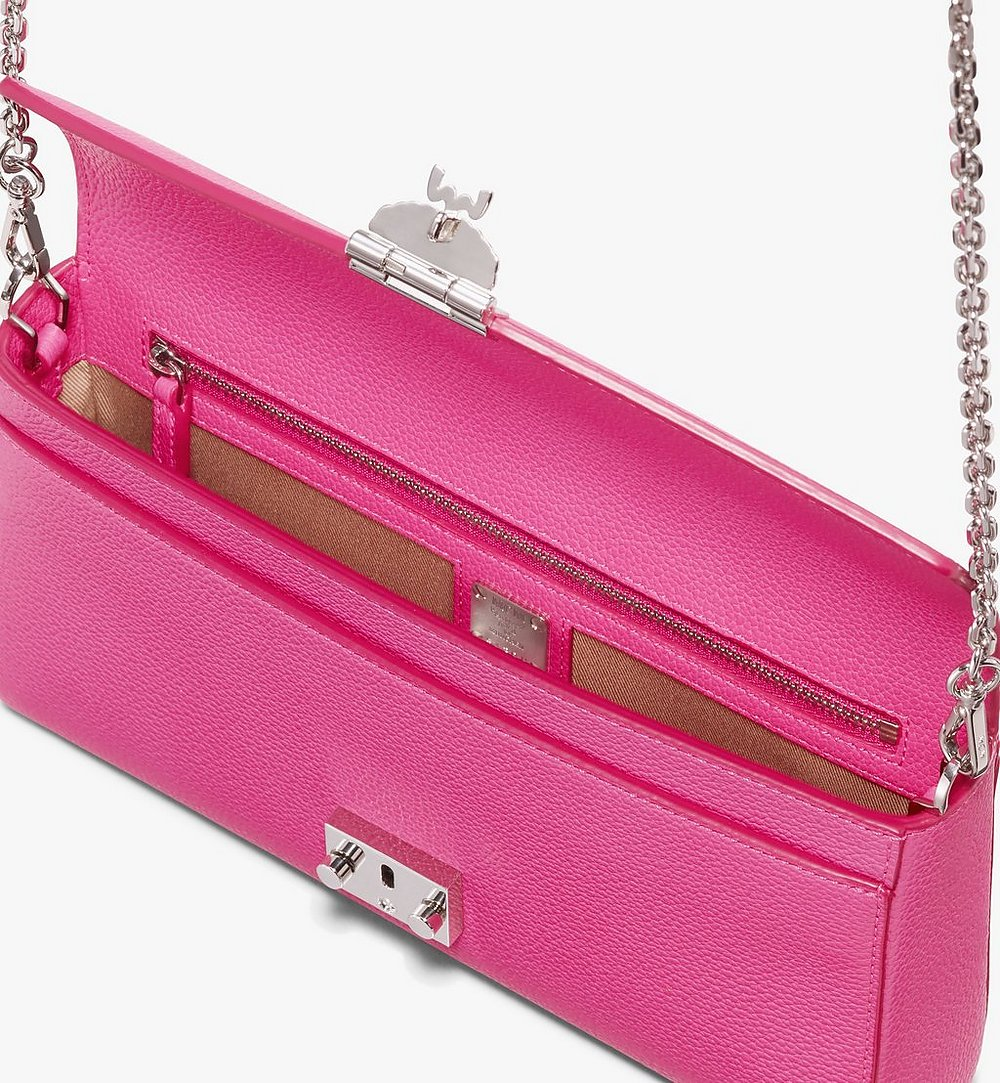 MCM Millie Crossbody in Park Avenue Leather Pink MYZ9AME50QS001 Alternate View 2