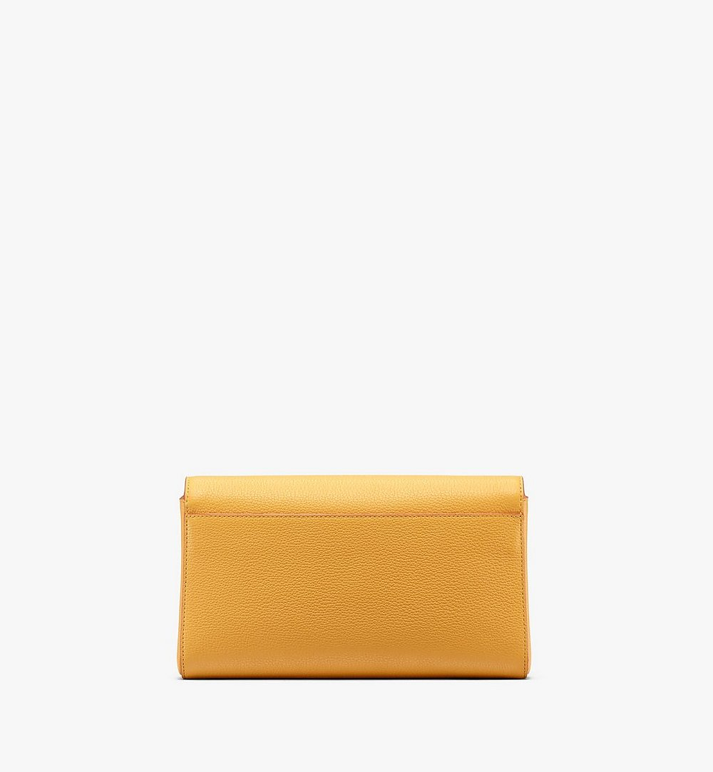 MCM Millie Crossbody in Park Avenue Leather Yellow MYZ9AME50YJ001 Alternate View 1