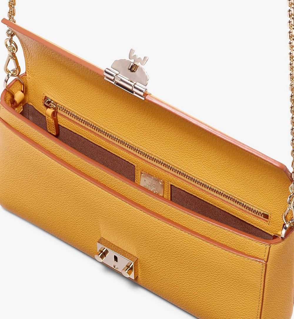 MCM Millie Crossbody in Park Avenue Leather Yellow MYZ9AME50YJ001 Alternate View 2