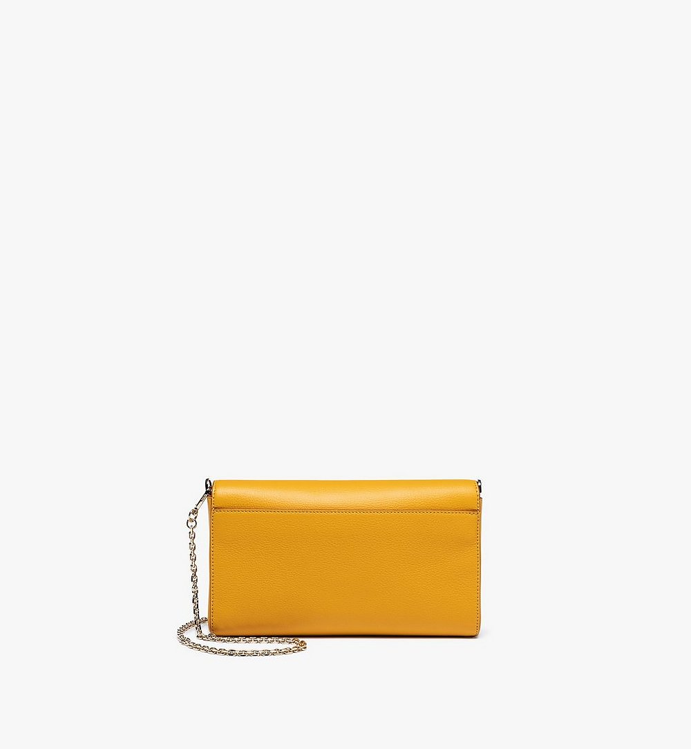 MCM Millie Crossbody in Park Avenue Leather Yellow MYZ9AME50YJ001 Alternate View 3
