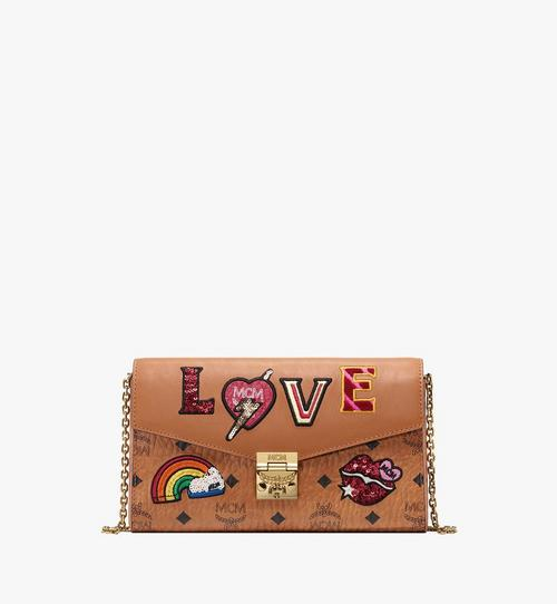Millie Crossbody in Love Patch Visetos