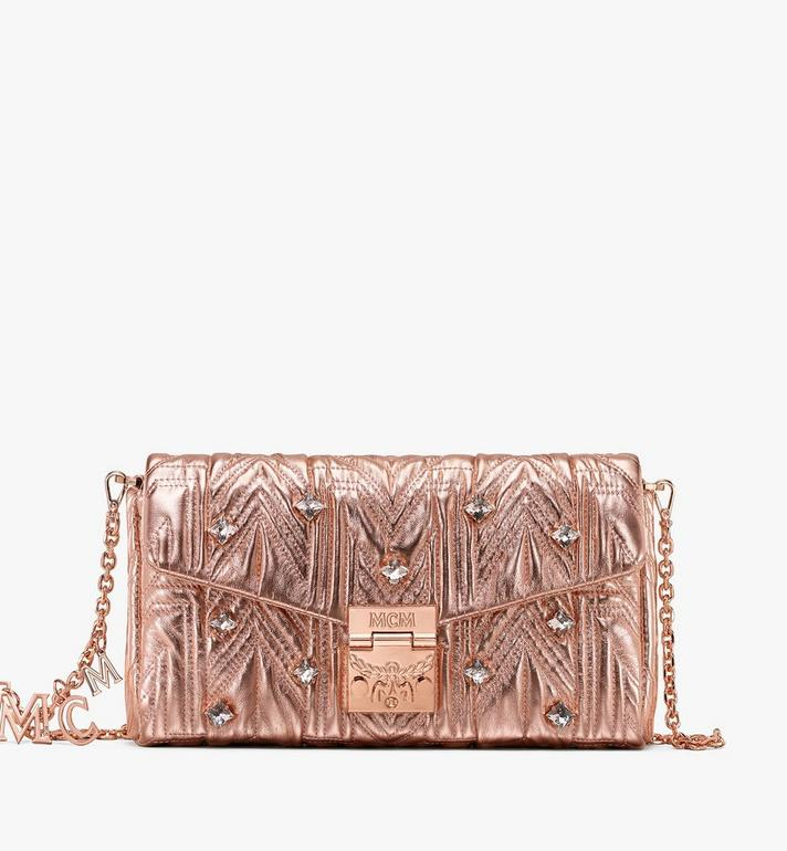 MCM Millie Crossbody in Crystal Quilted Leather Alternate View