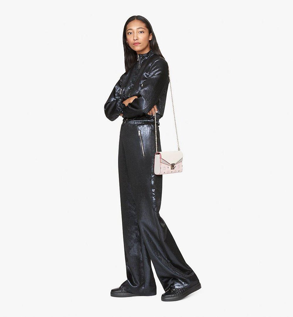 MCM Millie Crossbody in Color Block Leather Beige MYZ9AME80IH001 Alternate View 2